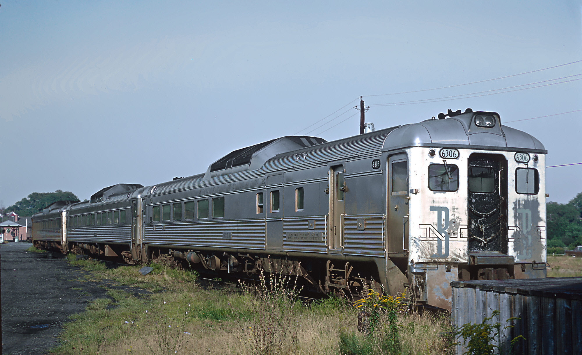 File Boston Amp Maine Rdc 6306 And Others At Rockport Ma On