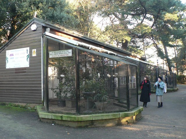 File Bournemouth Gardens The Aviary Geograph Org Uk