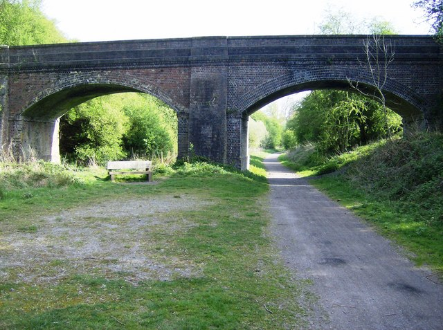 File:Bridge on Brampton Valley Way - geograph.org.uk - 446210.jpg