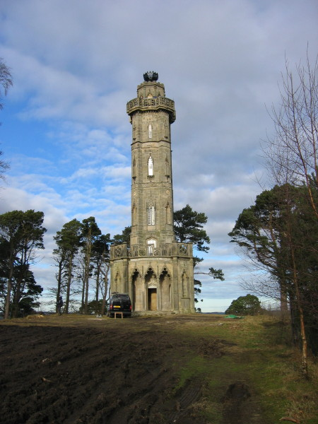 Brizlee Tower, Hulne Park, Alnwick - geograph.org.uk - 122689