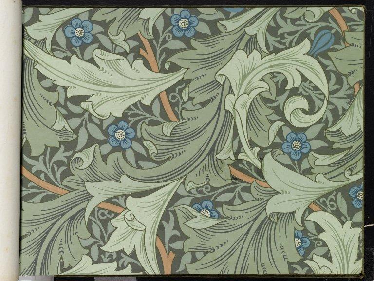 William Morris Wallpaper (с изображениями) Уильям моррис