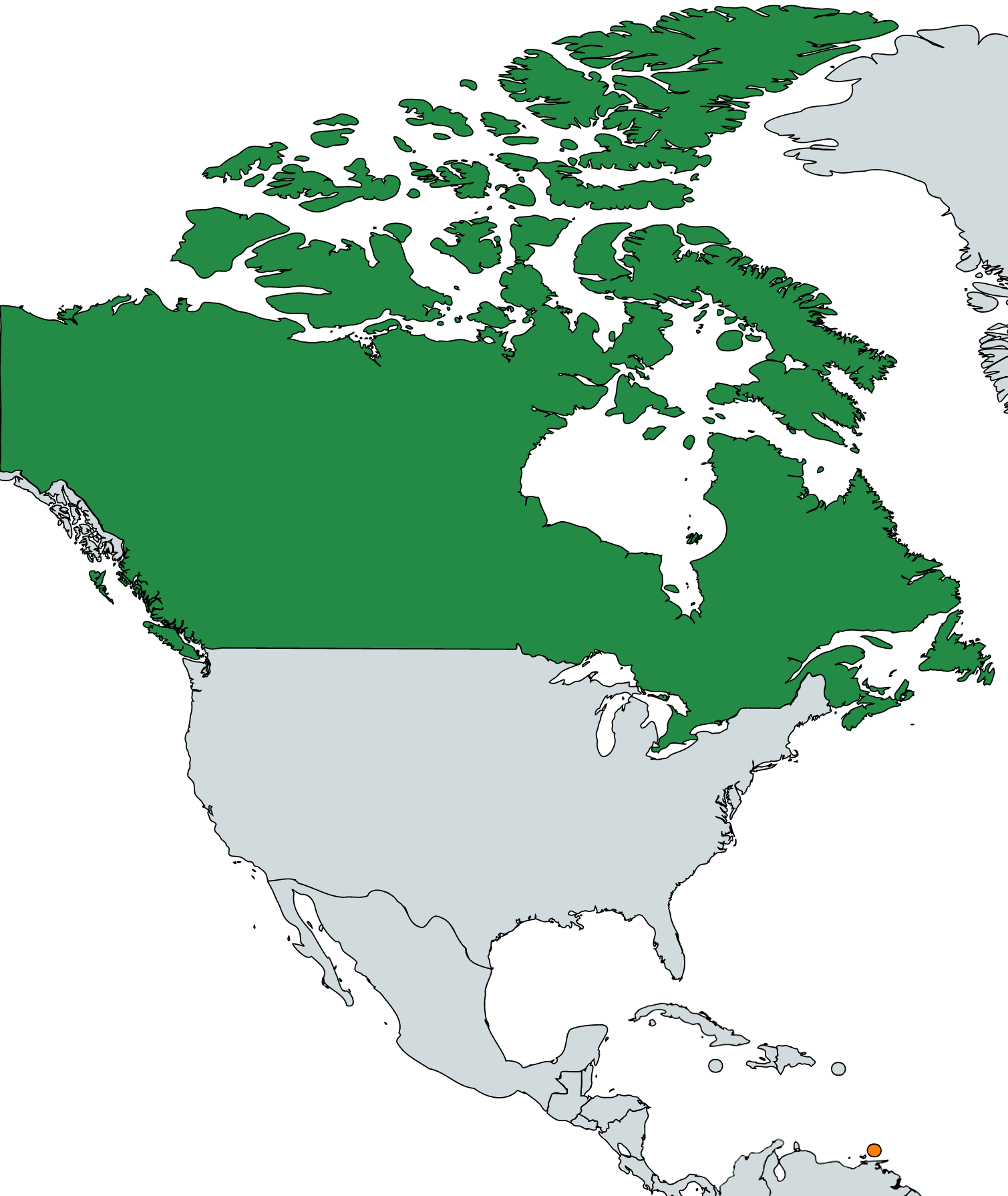 File Canada Trinidad And Tobago Map Locator Png Wikimedia Commons