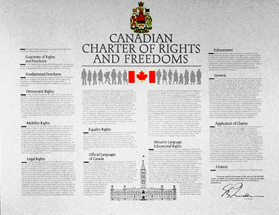 gay rights under the canadian charter of rights and freedoms Same-sex marriage advocates in ontario were critical of  the charter guarantee  of freedom of.