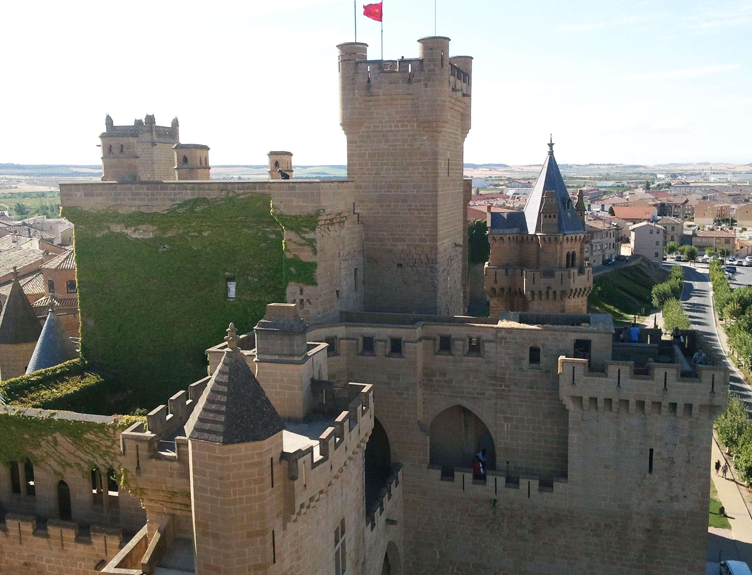 Olite Spain  city pictures gallery : Castillo de Olite, Navarra Spain Wikimedia Commons