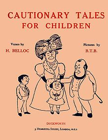 <i>Cautionary Tales for Children</i> book by Hilaire Belloc
