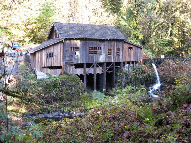 Cedar creek grist mill washington roadtrippers for The cedar mill