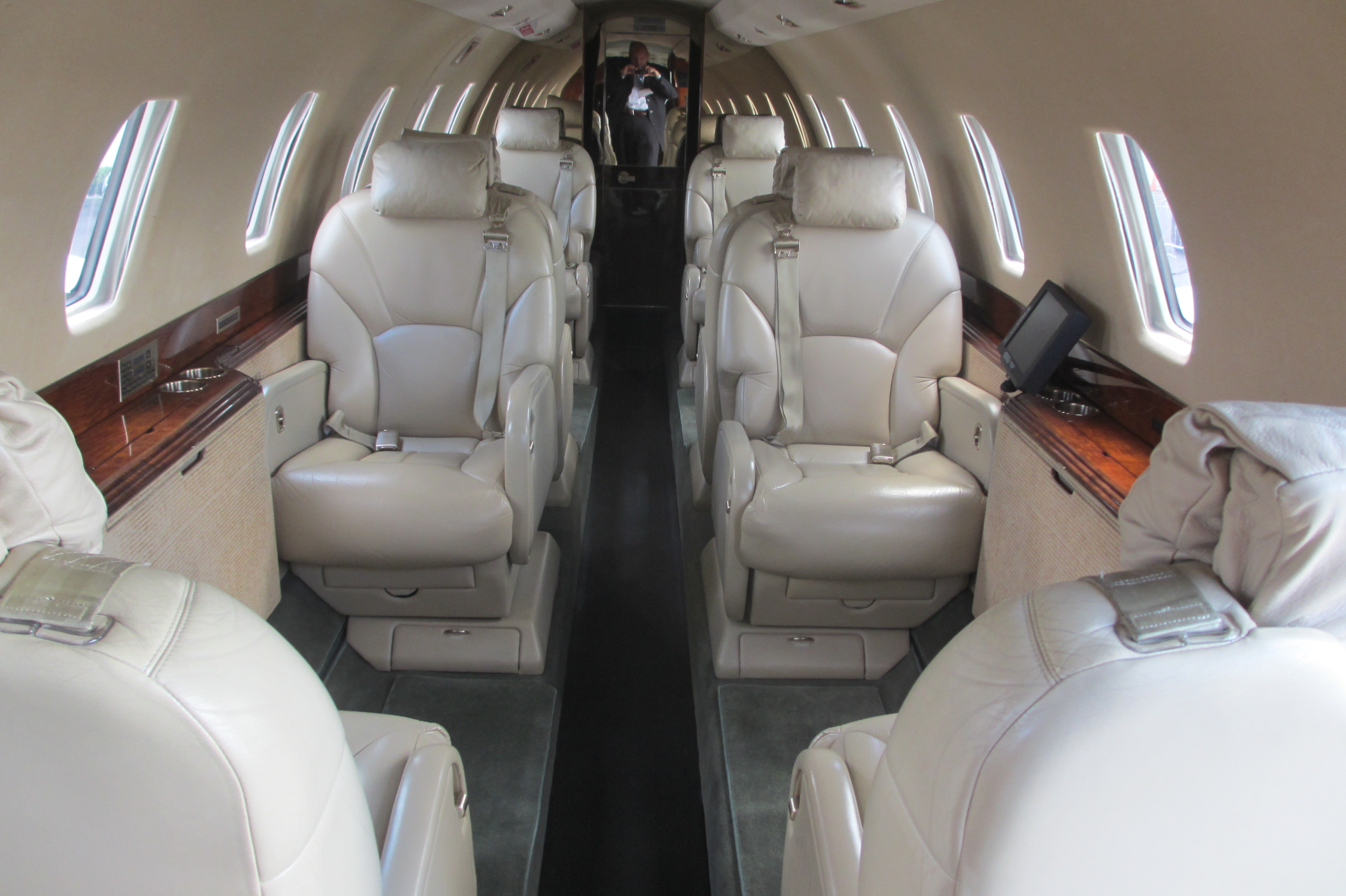 Cessna Citation Interior