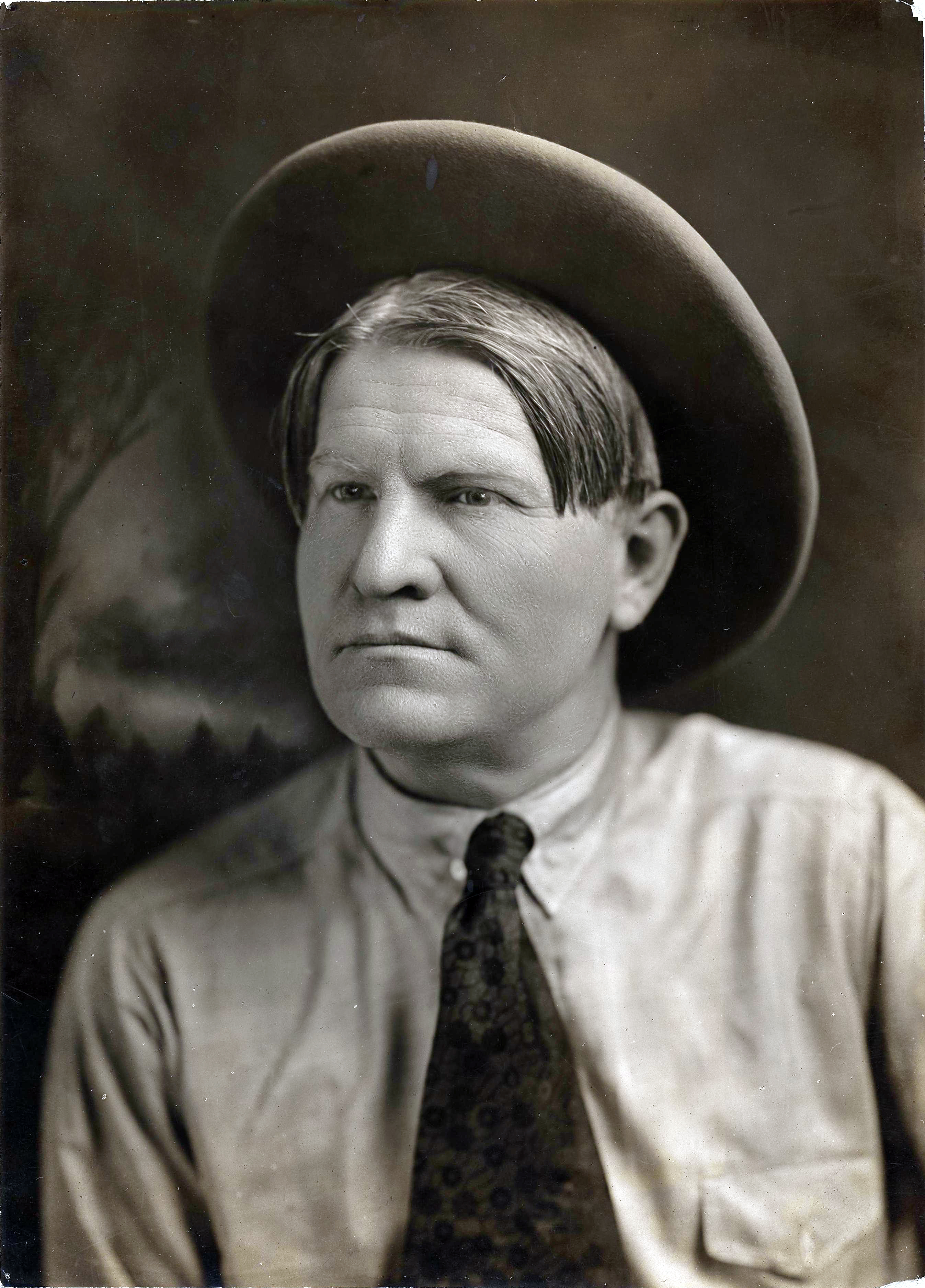 Photograph of Charlie Russell