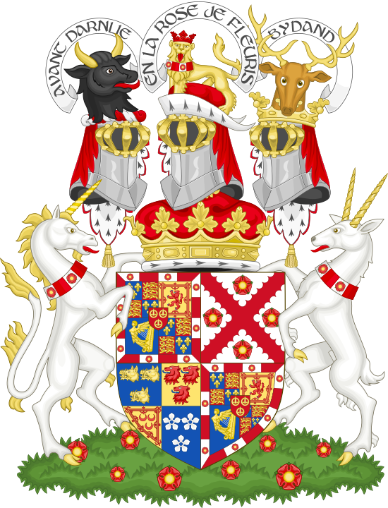 Coat of arms of the duke of Richmond, Lennox and Gordon.png