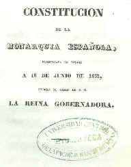 Constitución española de 1837