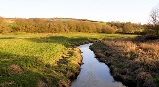Cuckmere River from White Bridge, Alfriston - geograph.org.uk - 715748