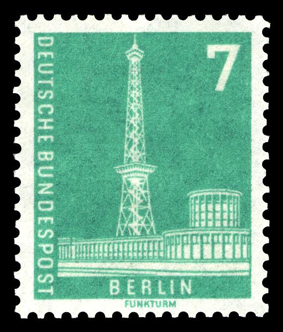 Briefmarken Jahrgang 1956 Der Deutschen Bundespost Berlin Wikiwand