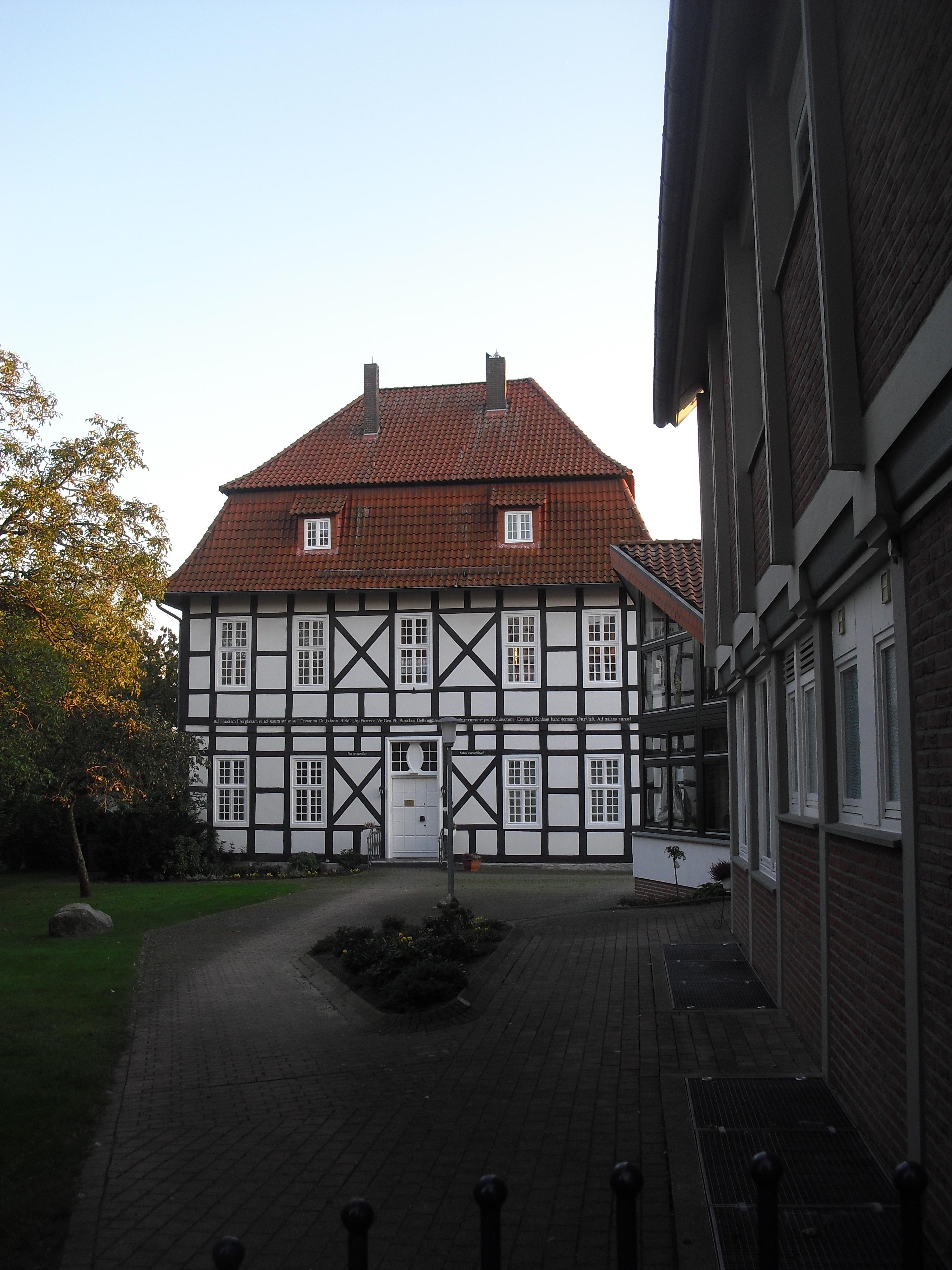 Pfarrhaus von Johann Conrad Schlaun