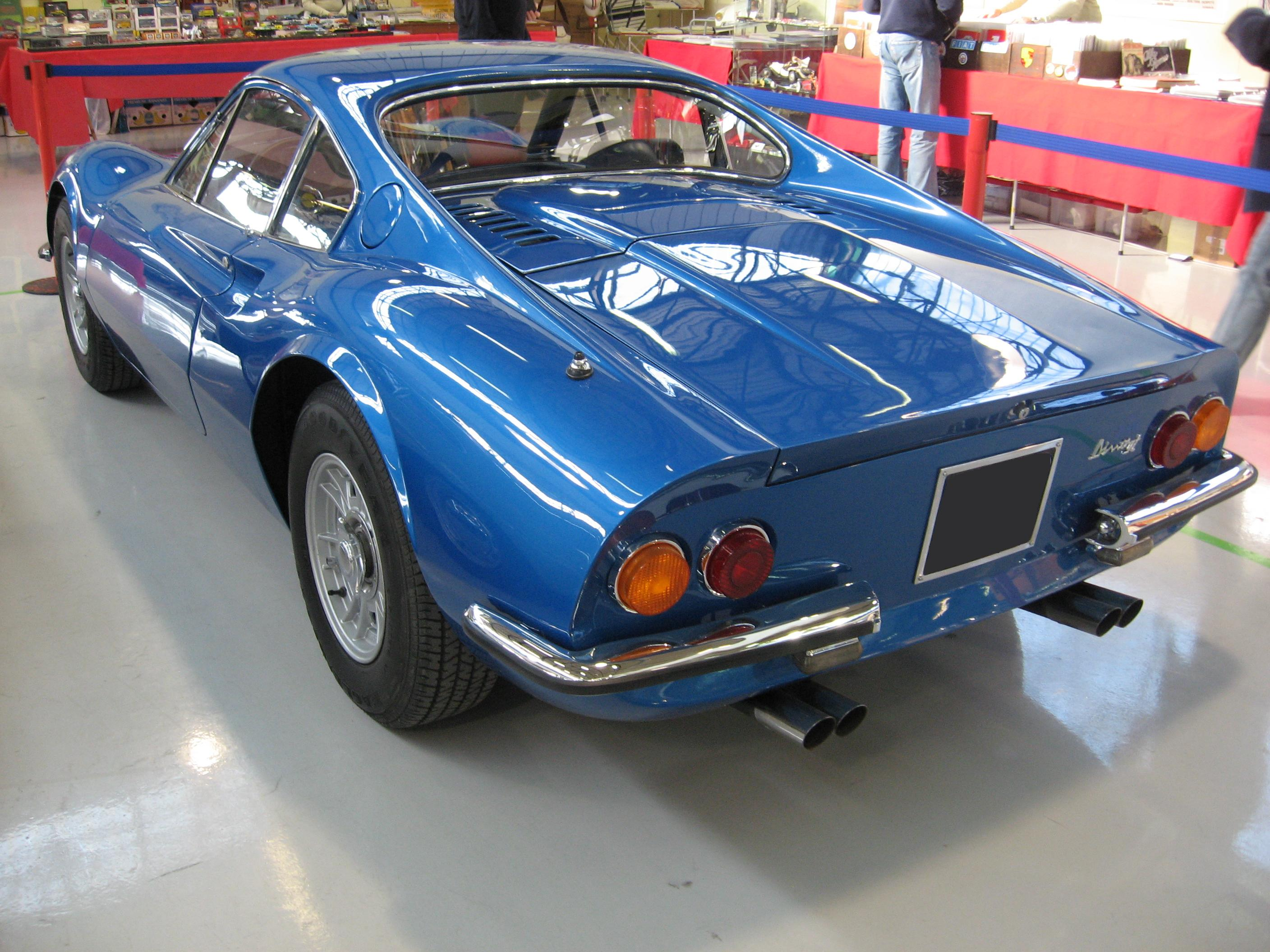 File Dino 246 Gt Rear Jpg Wikimedia Commons