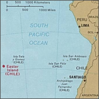 Easter Island, Salas y Gomez Islands, South America and the islands in between Easter island and south america.jpg