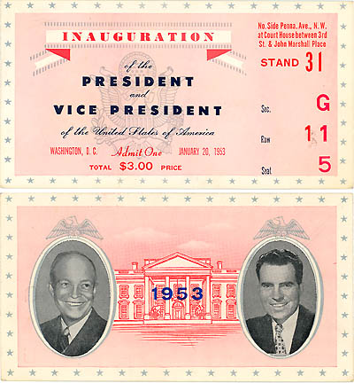 Eisenhower Inauguration ticket.jpg