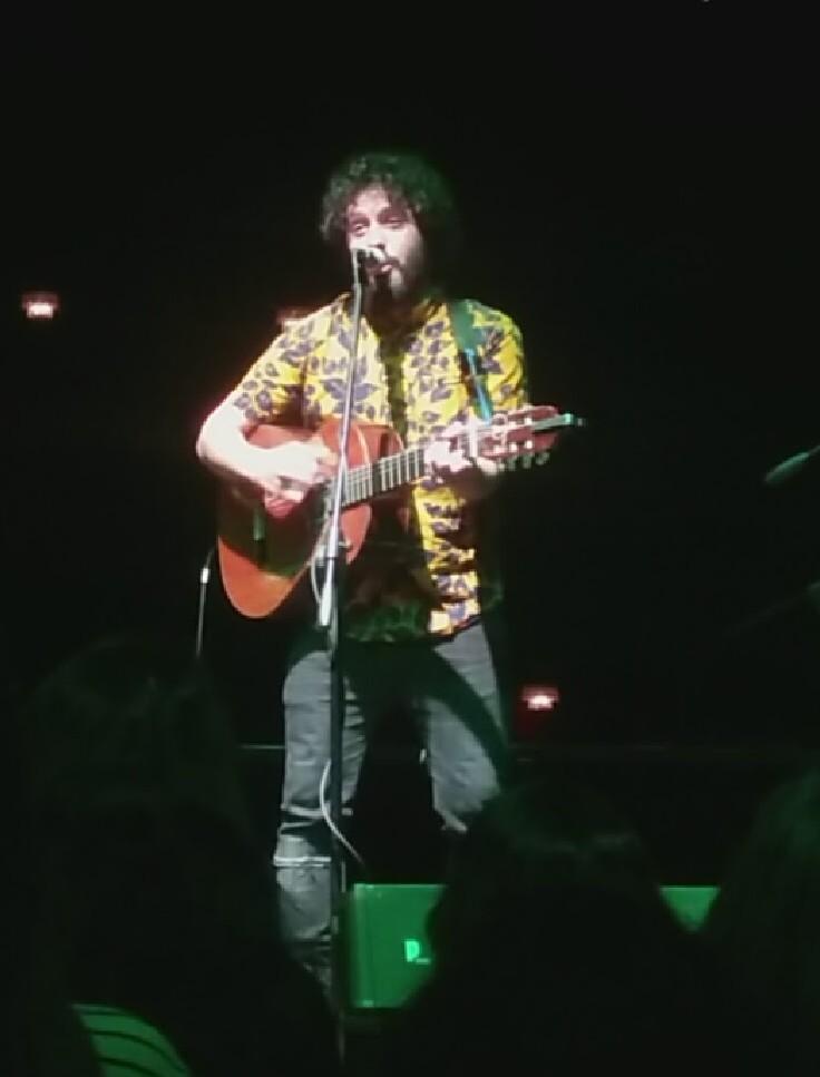El Kanka en un concierto de Valladolid.