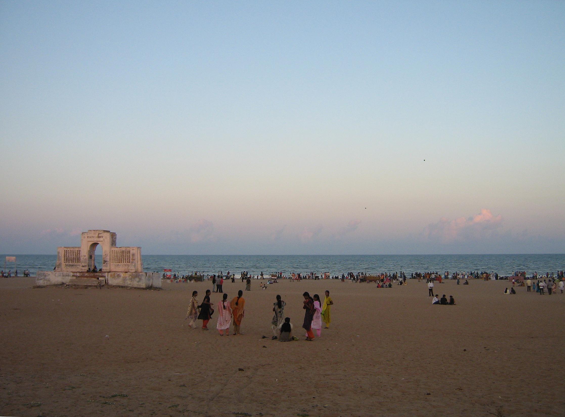 Elliott S Beach C Chennai