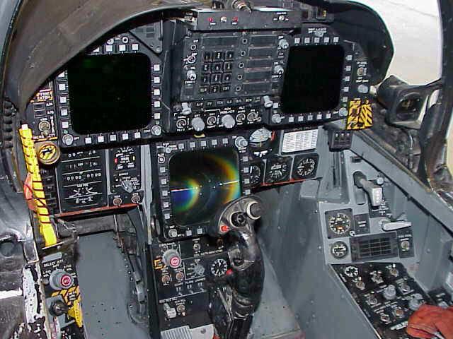 F 18 Cockpit File:FA-18A cockpit.jp...