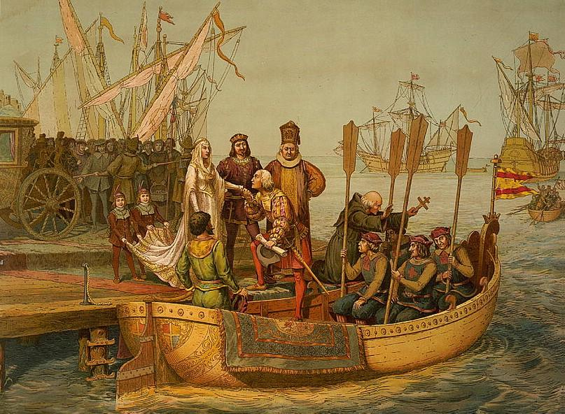 the discovery of the new world by christoper columbus and the changes in the lives of europeans and
