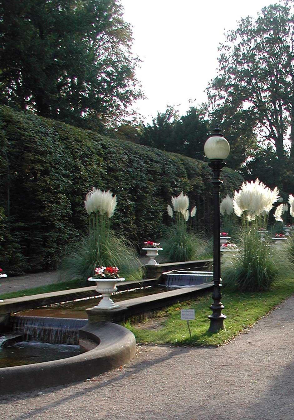 Wasserterrassen im Botanischen Garten Köln