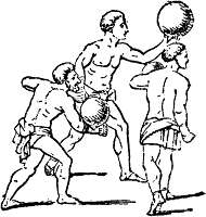 Balloon (game) ancient sport