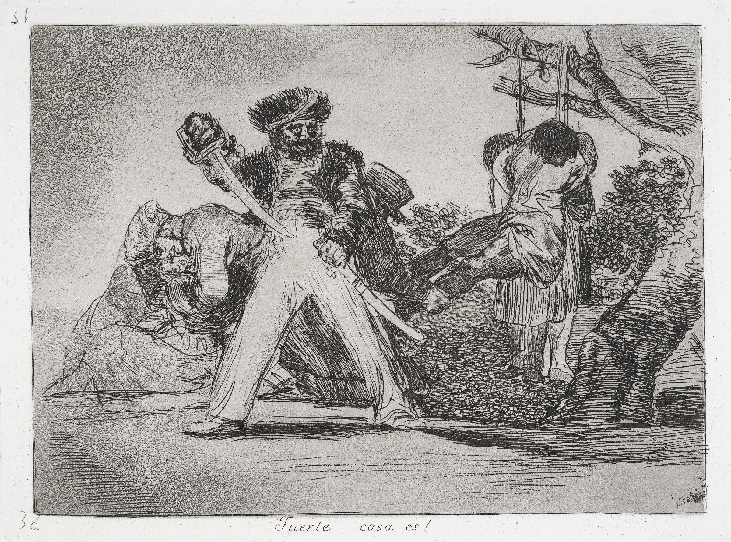 Goya's Disasters of War: The truth about war laid bare