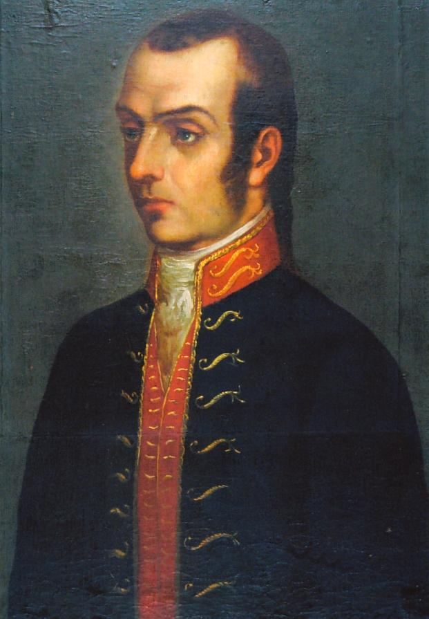Depiction of Francisco Antonio de Zela