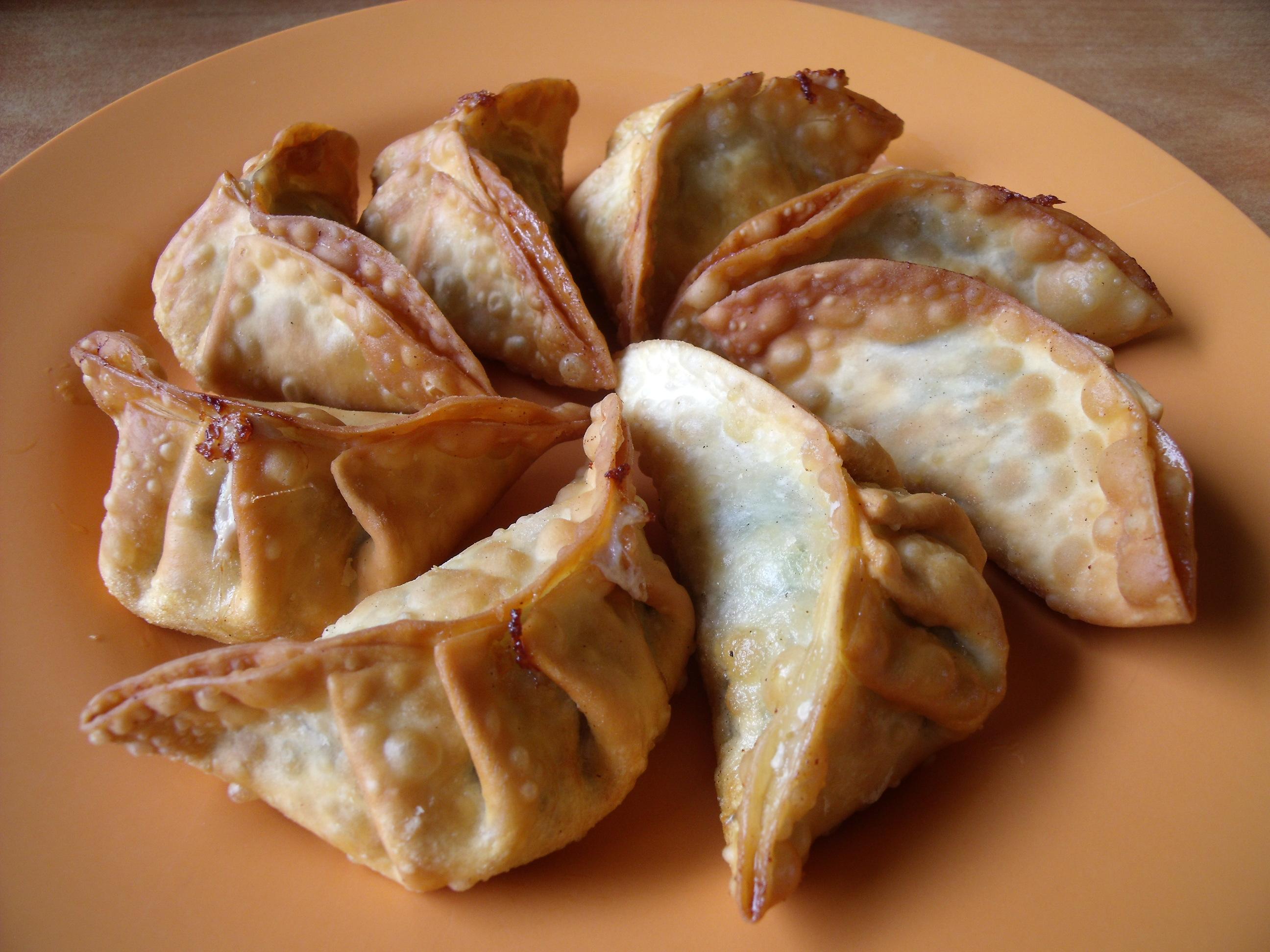 Singapore fried dumplings