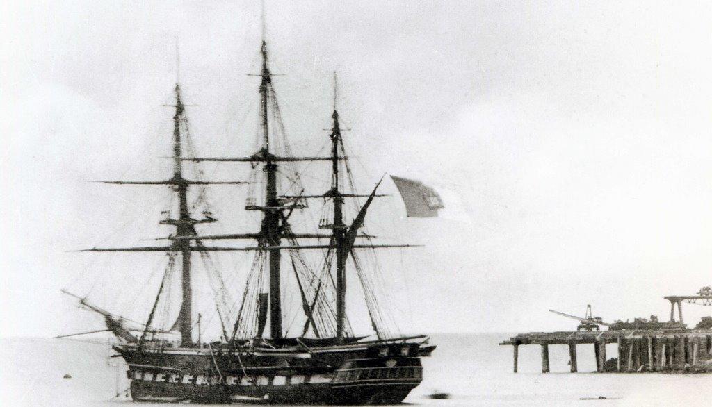heavy frigate sailing ship