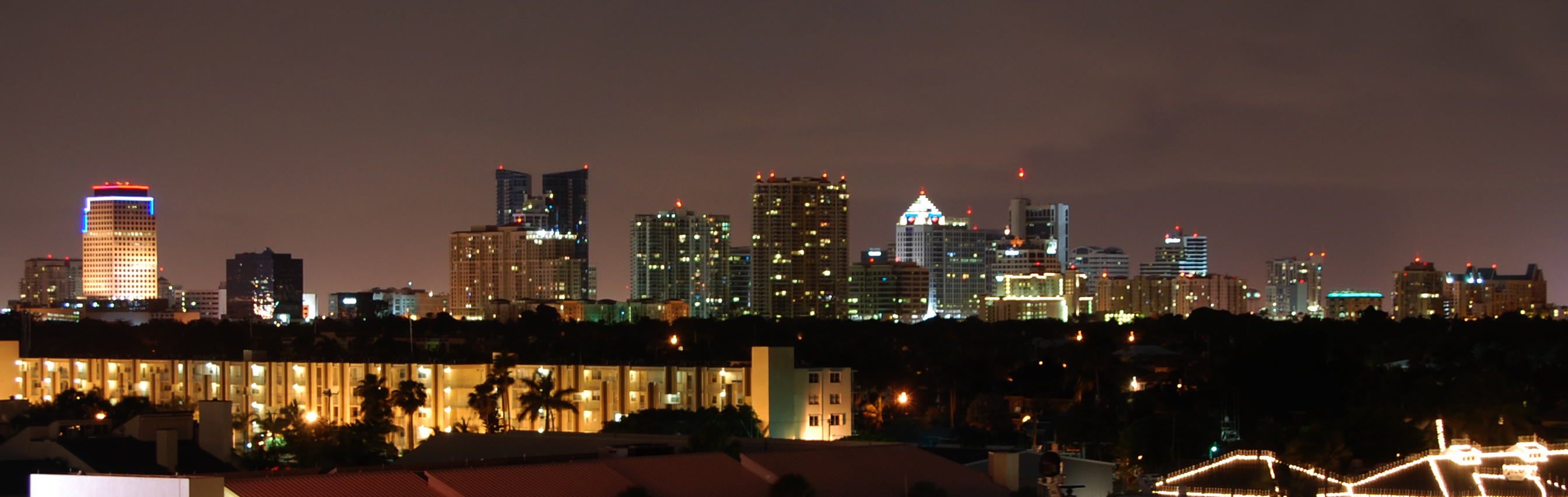 Fort Lauderdale, Florida, Broward County skyline