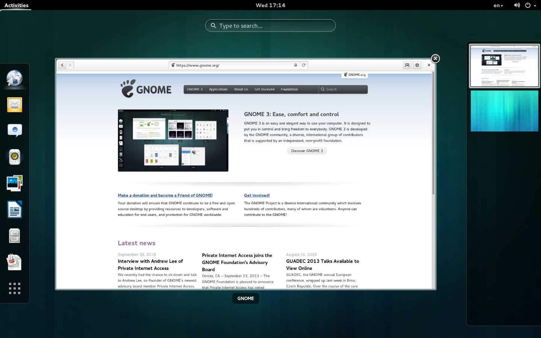 GNOMEの画像
