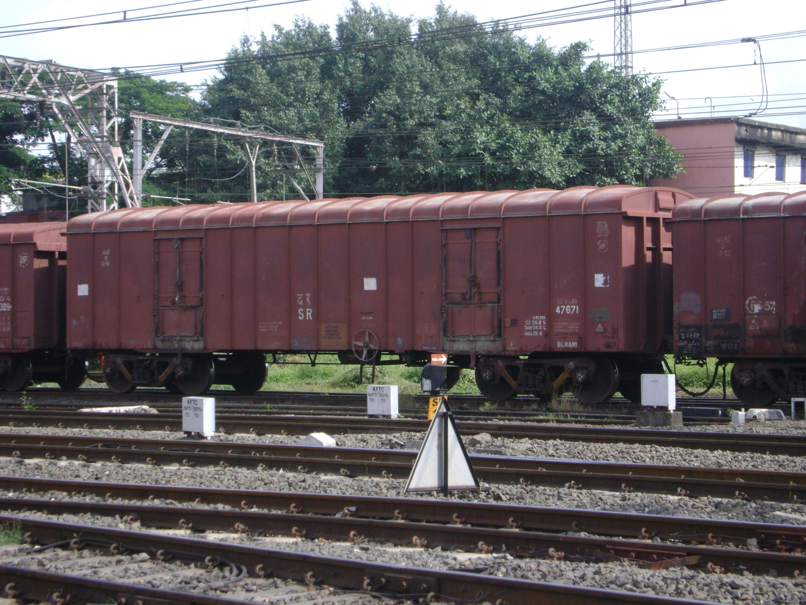 File goods wagon train jpg wikimedia commons - Wagon de train a vendre occasion ...