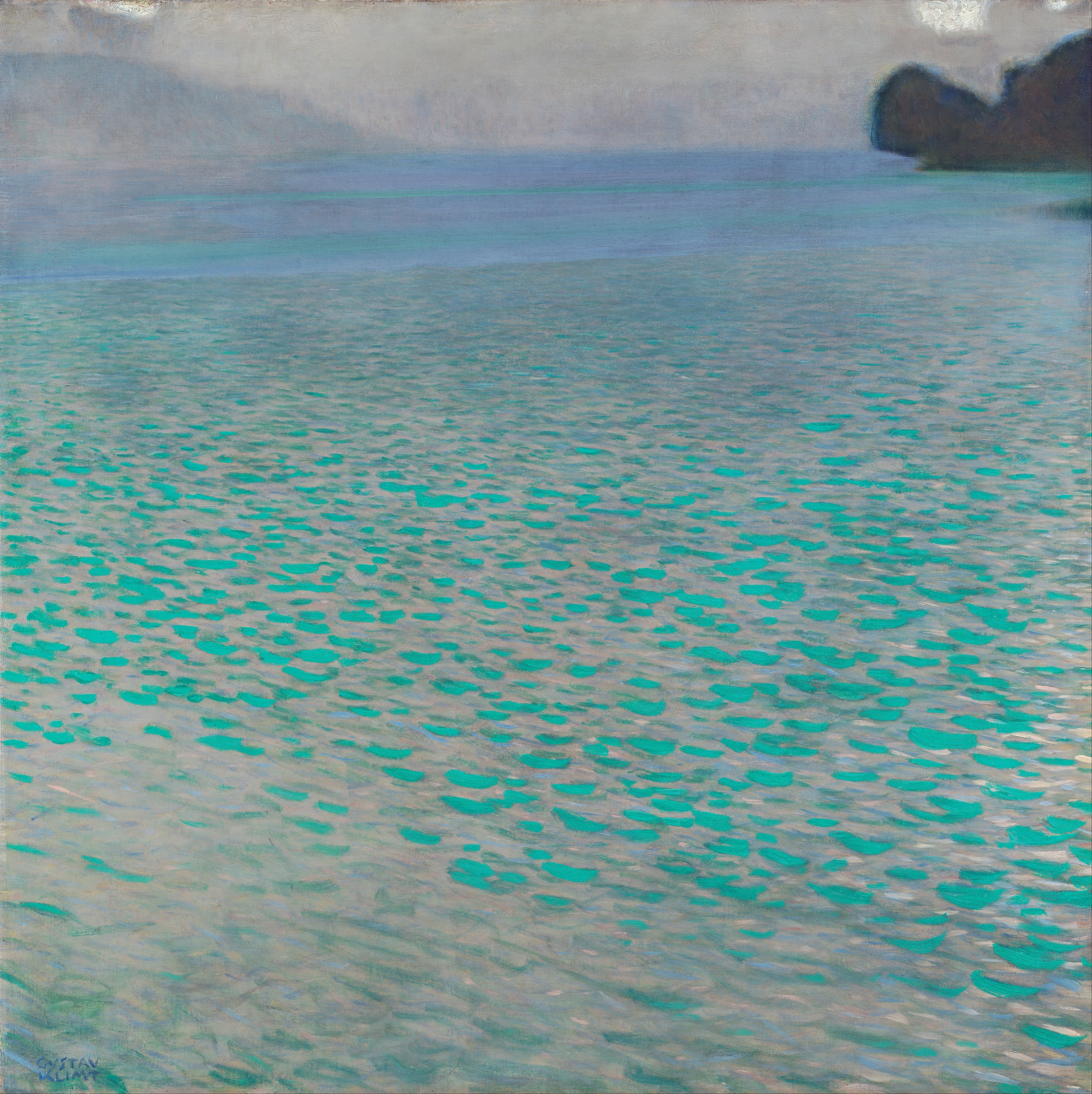 Musique et Image Gustav_Klimt_-_Attersee_-_Google_Art_Project
