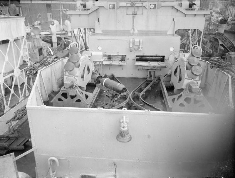 HMS_Loch_Fada_Squid_launchers_1944_IWM_A_26153.jpg