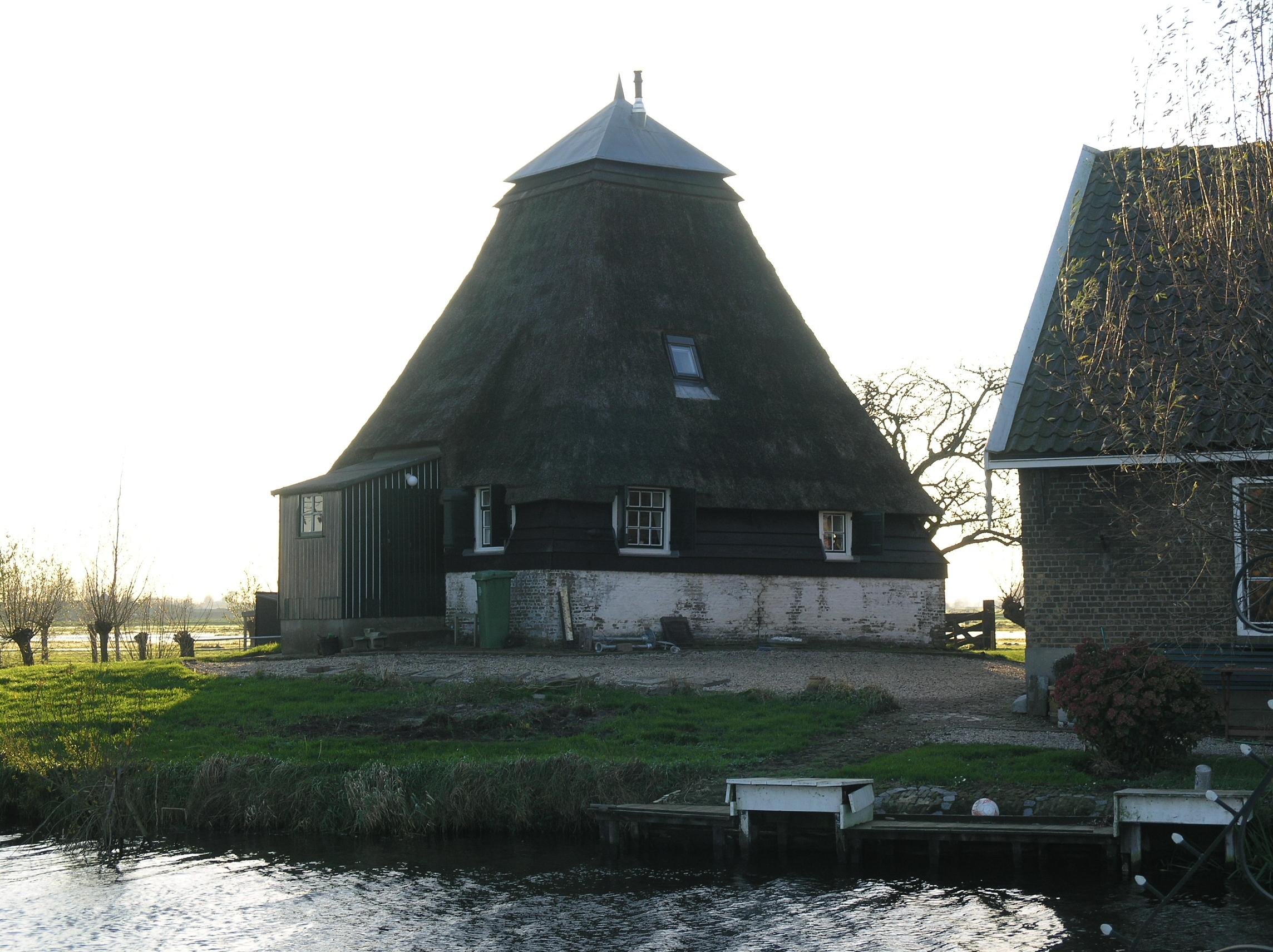 Polder Bergambacht/ De Kleine Molen/ Molen van Hol ...