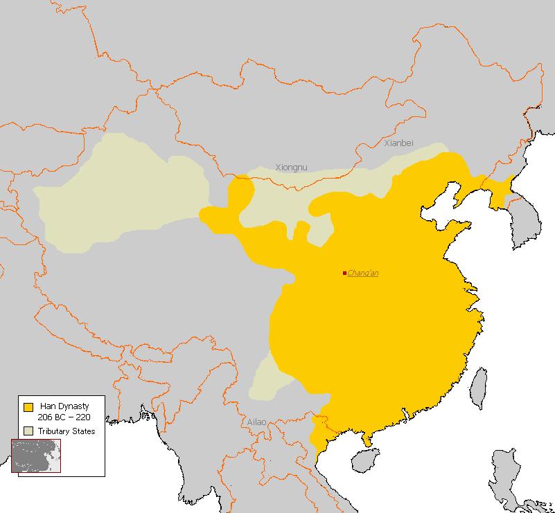 王朝 順番 中国