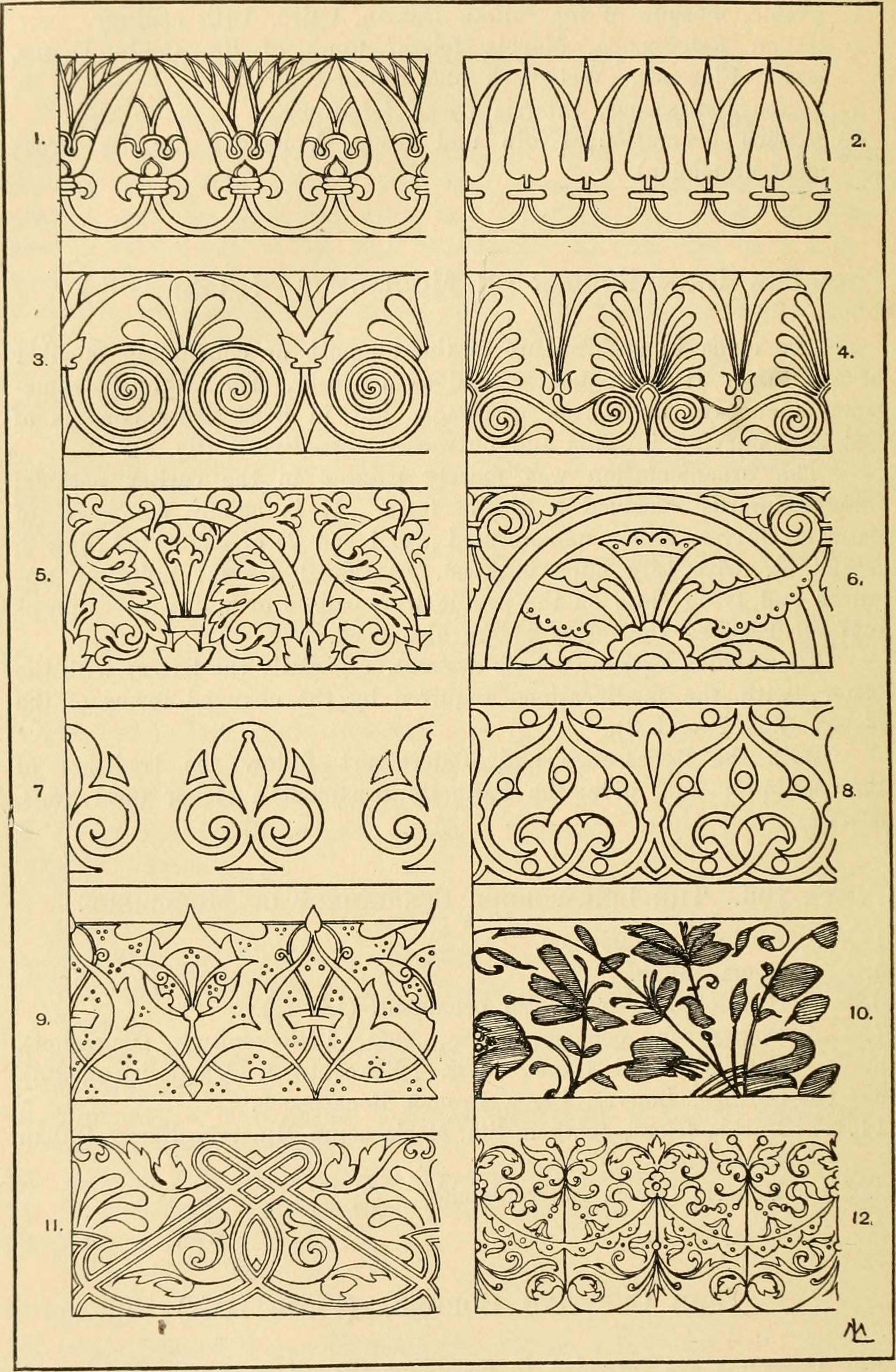 Book Page Art Free Wiring Diagram For You Zumba Steps File Handbook Of Ornament A Grammar Industrial How To
