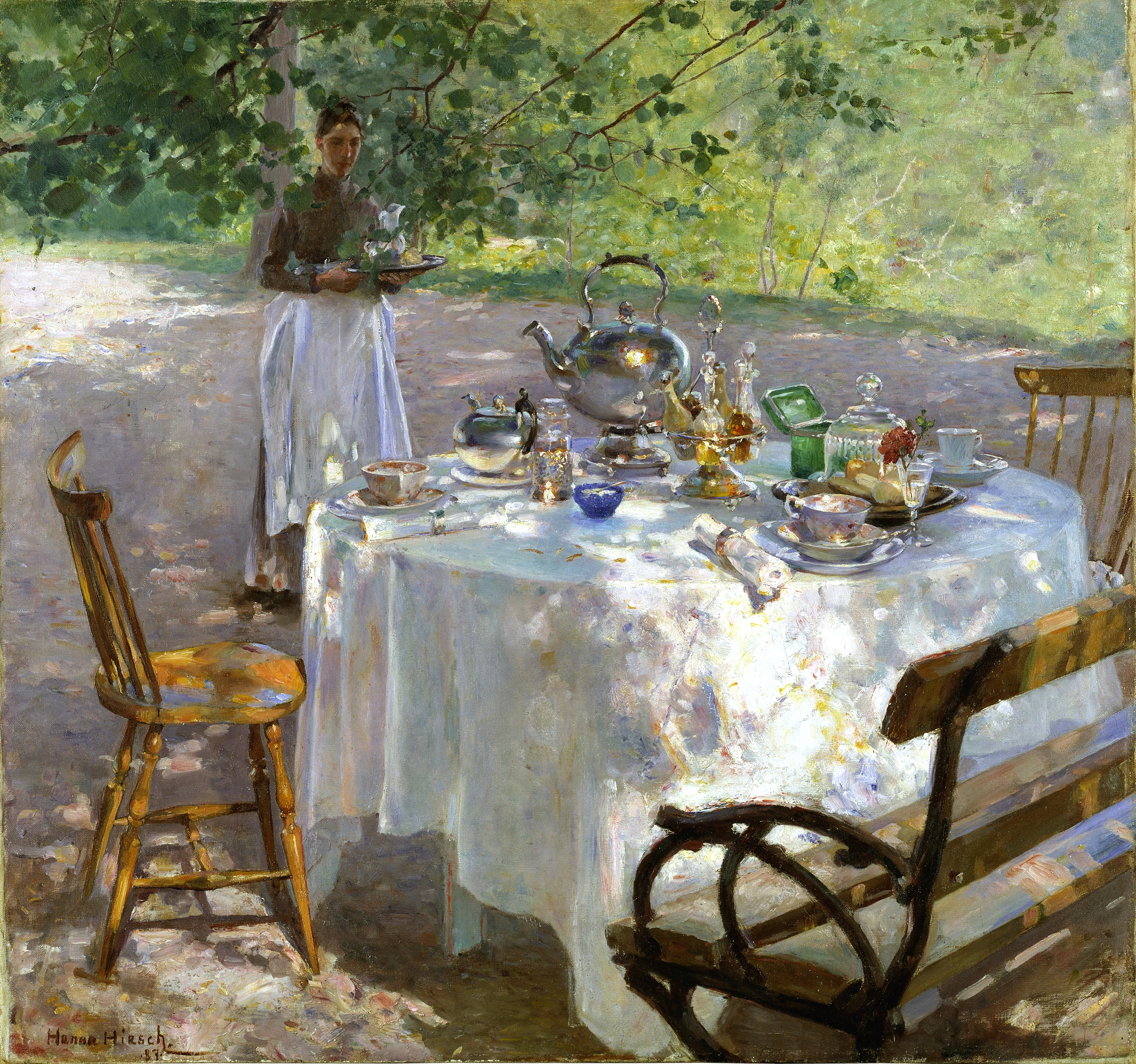 Hanna Pauli - Frukostdags