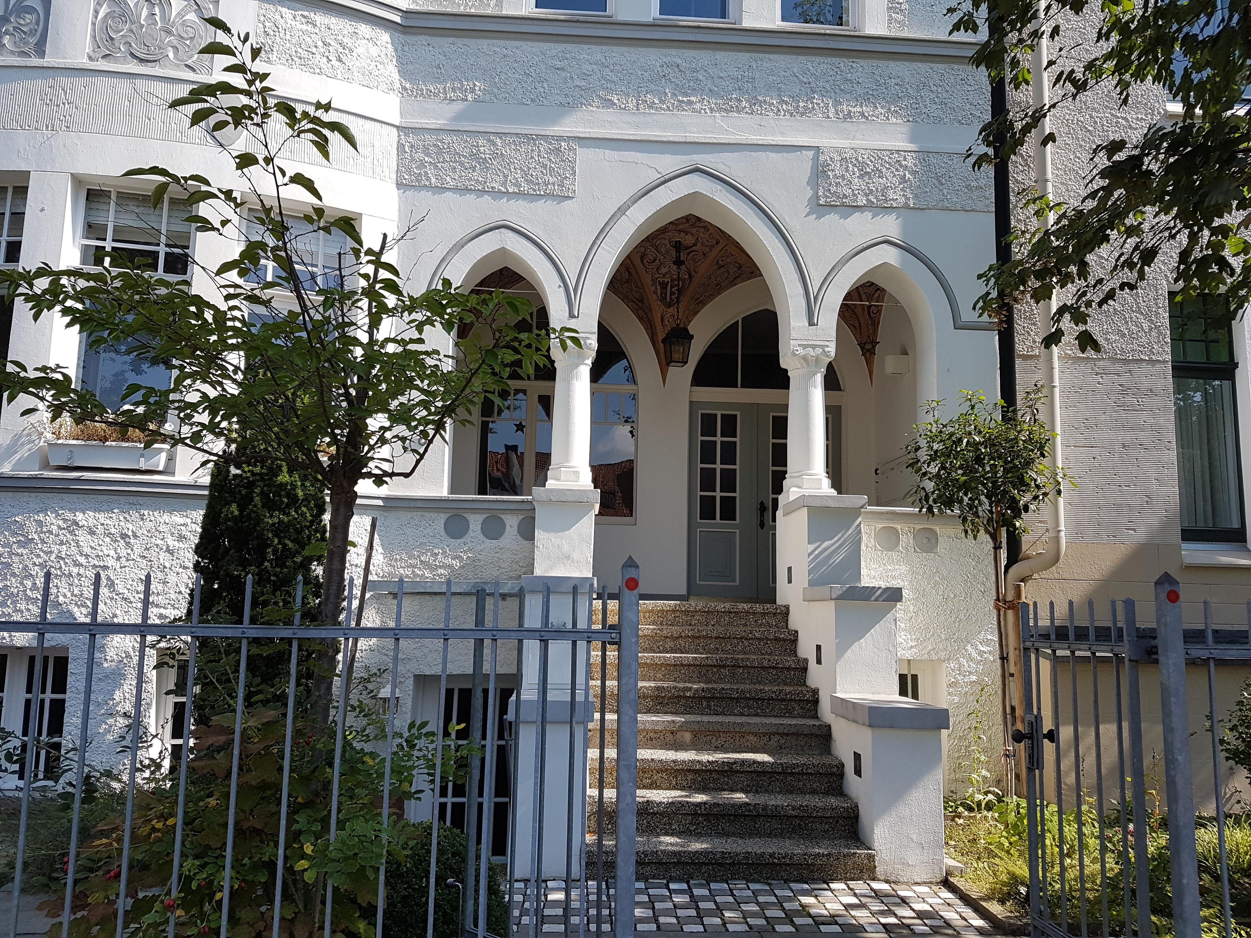 Haus Eingang file hauseingang romantik denkmal kleefeld jpg wikimedia commons