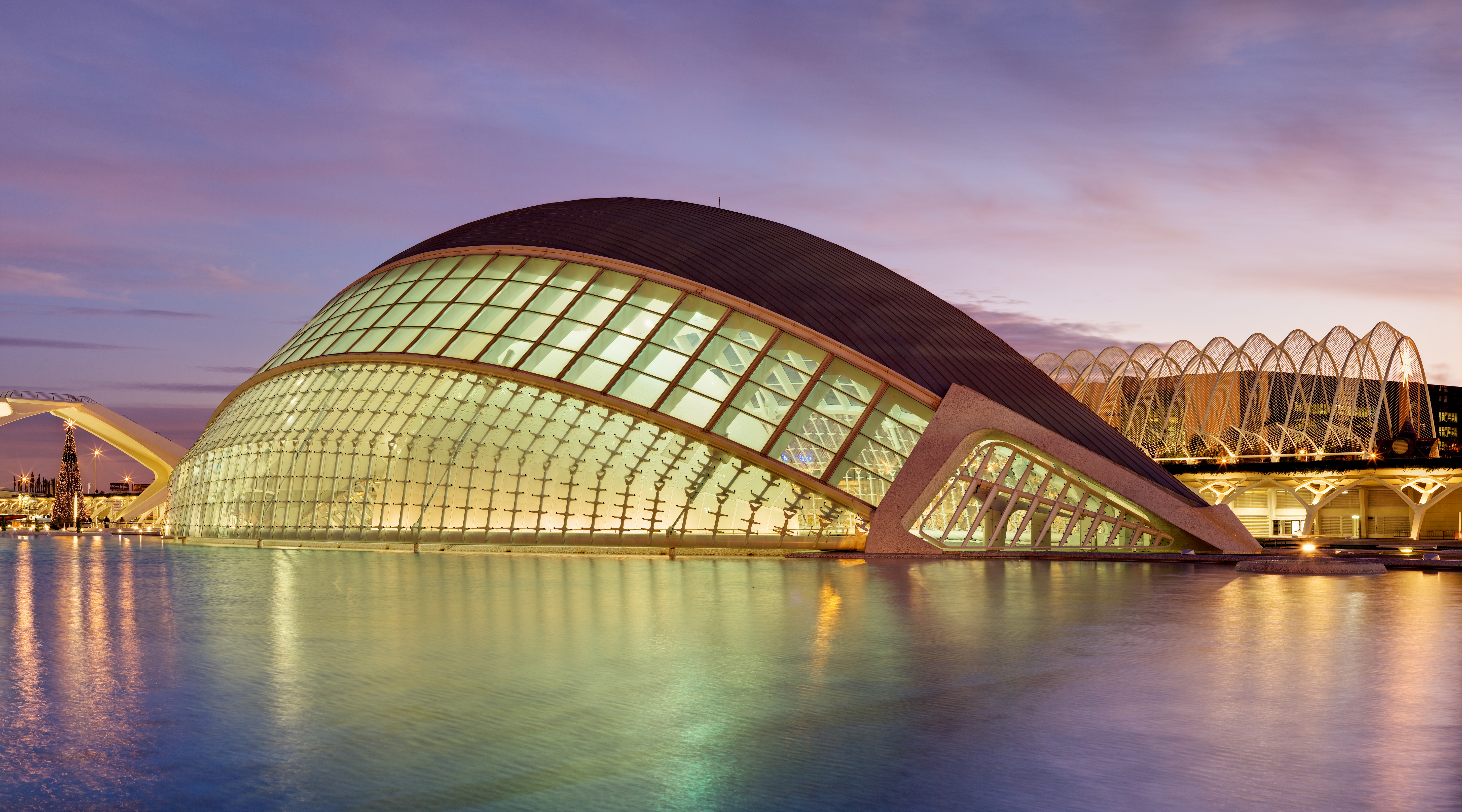 Image of City of Arts and Sceinces Valencia.