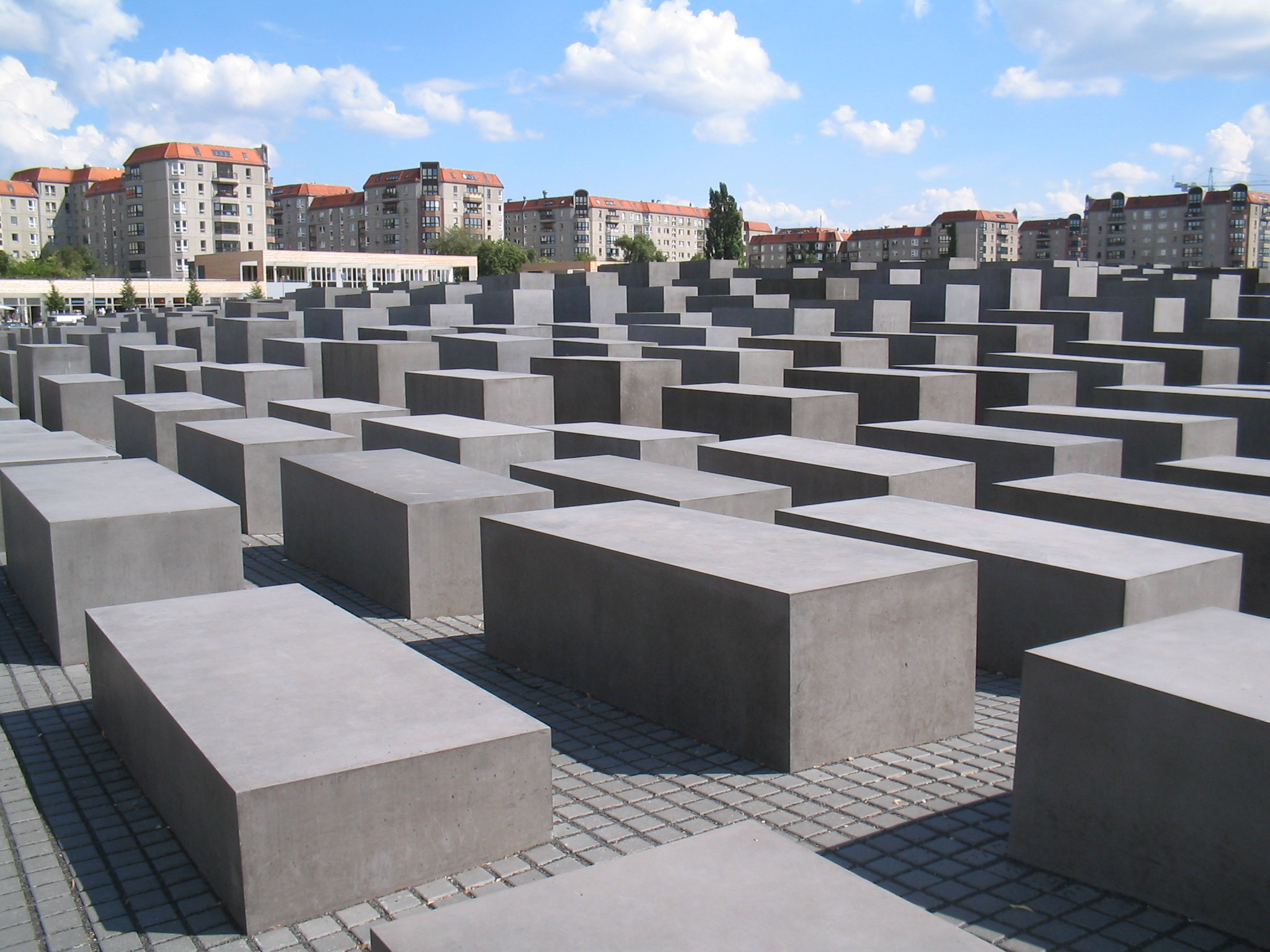 Das Holocaust-Mahnmal in Mitte