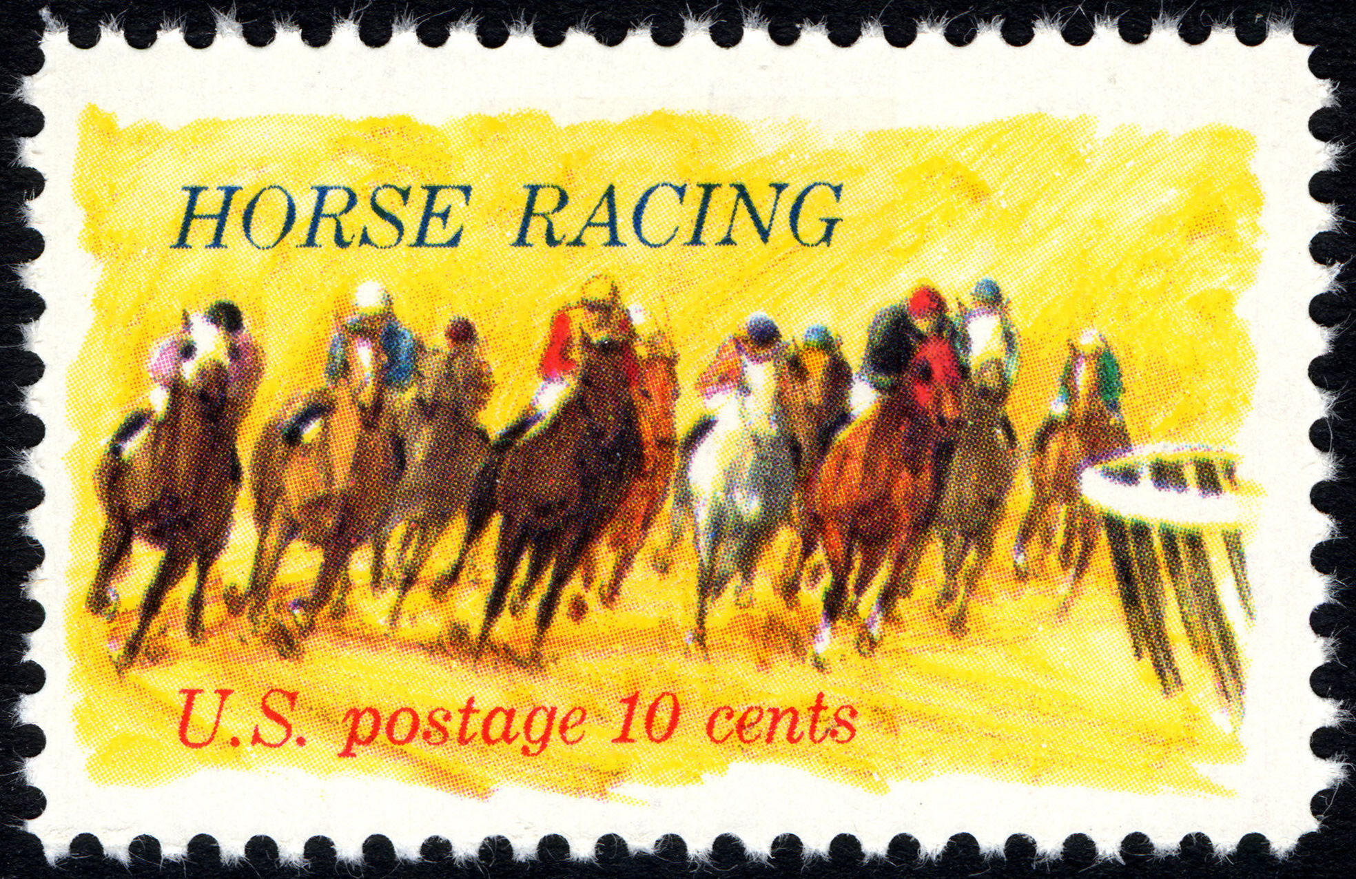HORSES ** US POSTAGE STAMPS ** SET OF 4 MINT