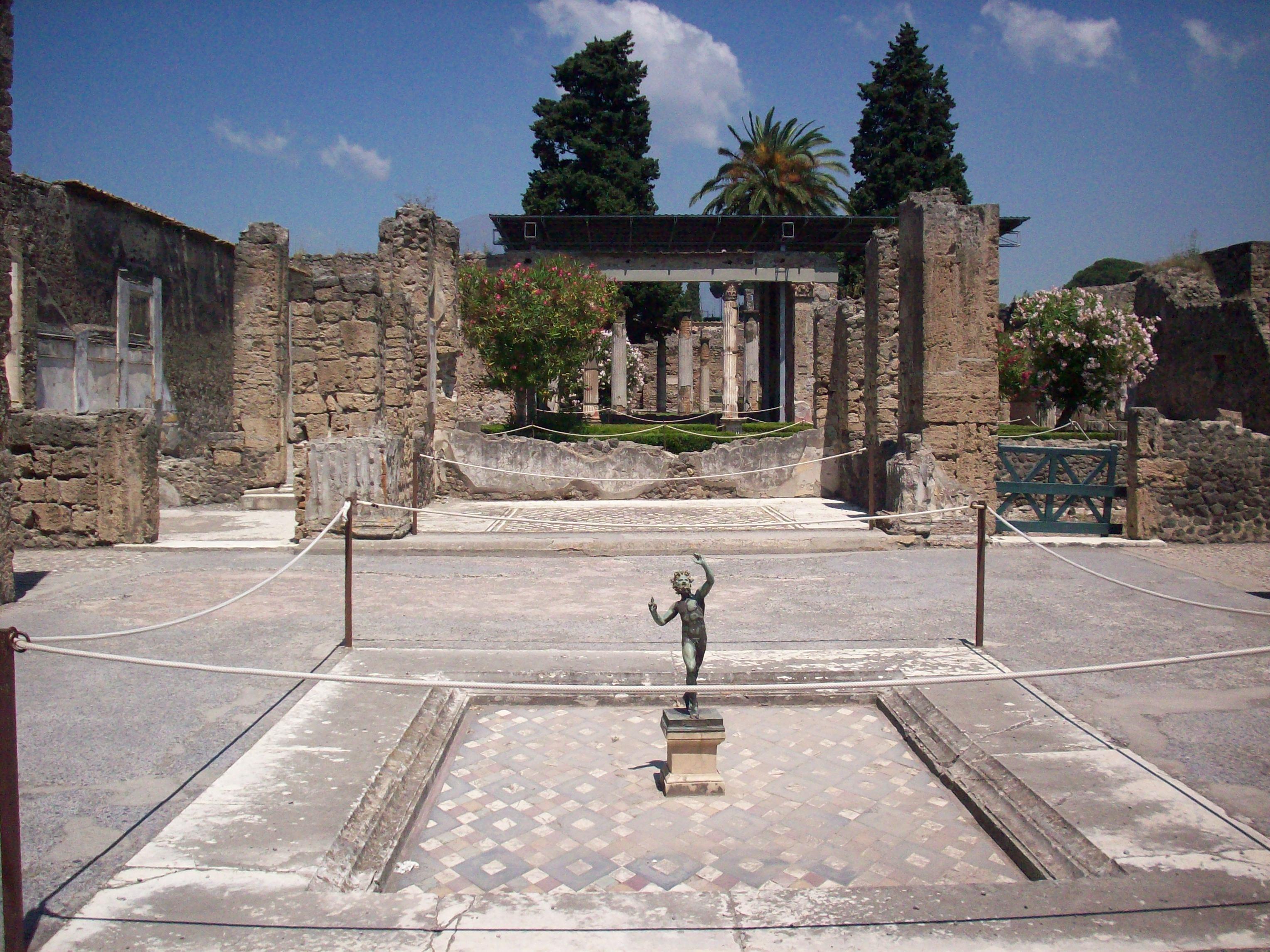 Casa del Fauno, Pompeii