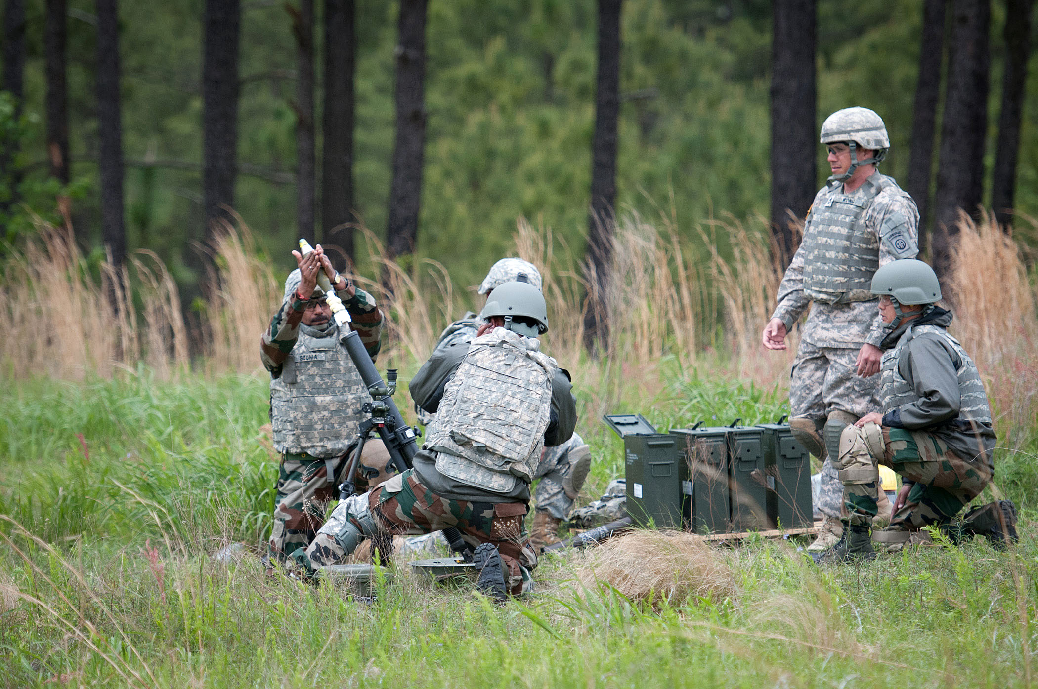 File:Indian Army Brig  Gen  Jagdish Chaudhari prepares to