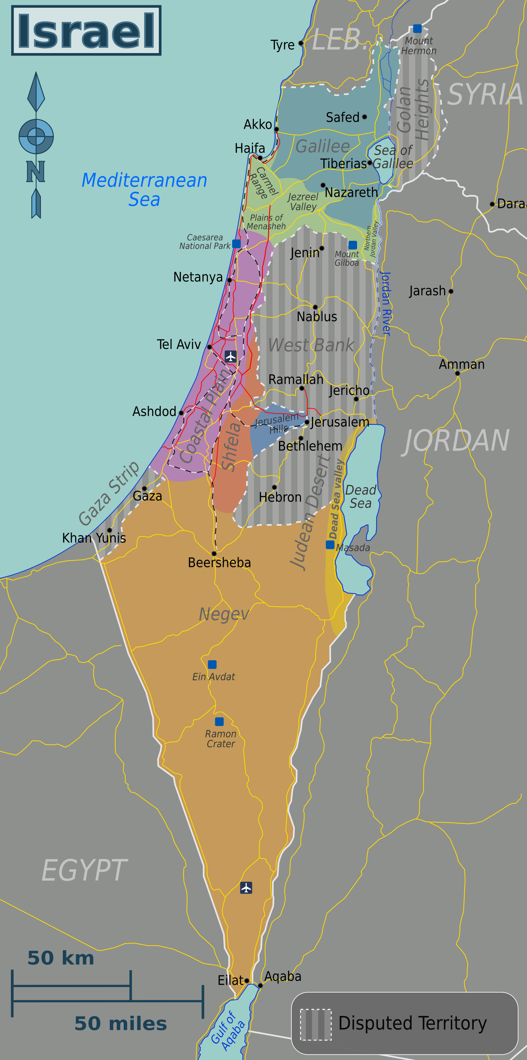 FileIsrael Map Hebrew WV Englishpng Wikimedia Commons - Isreal map