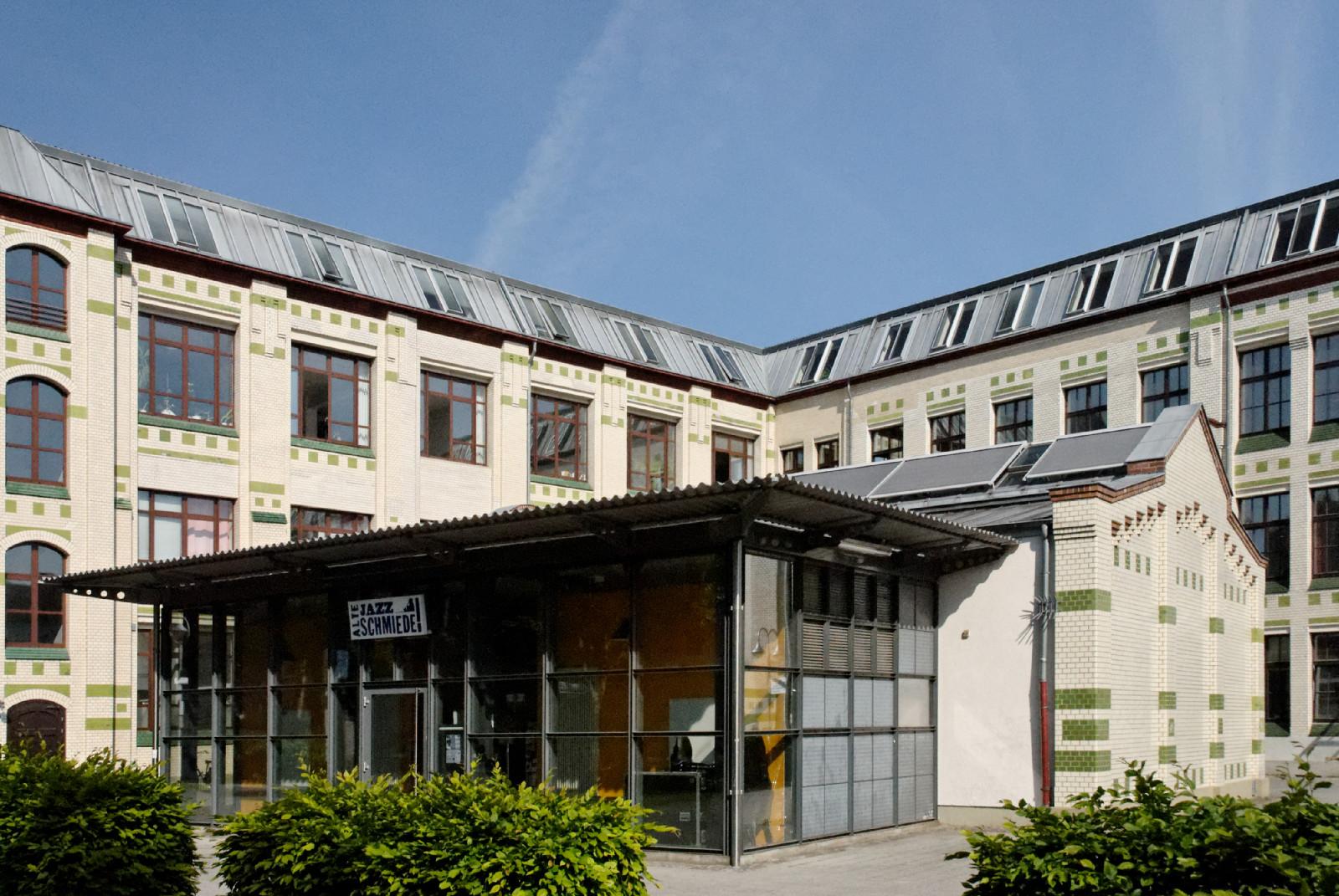 Datei Jazz Schmiede in Duesseldorf Bilk, von Suedosten jpg u2013 Wikipedia