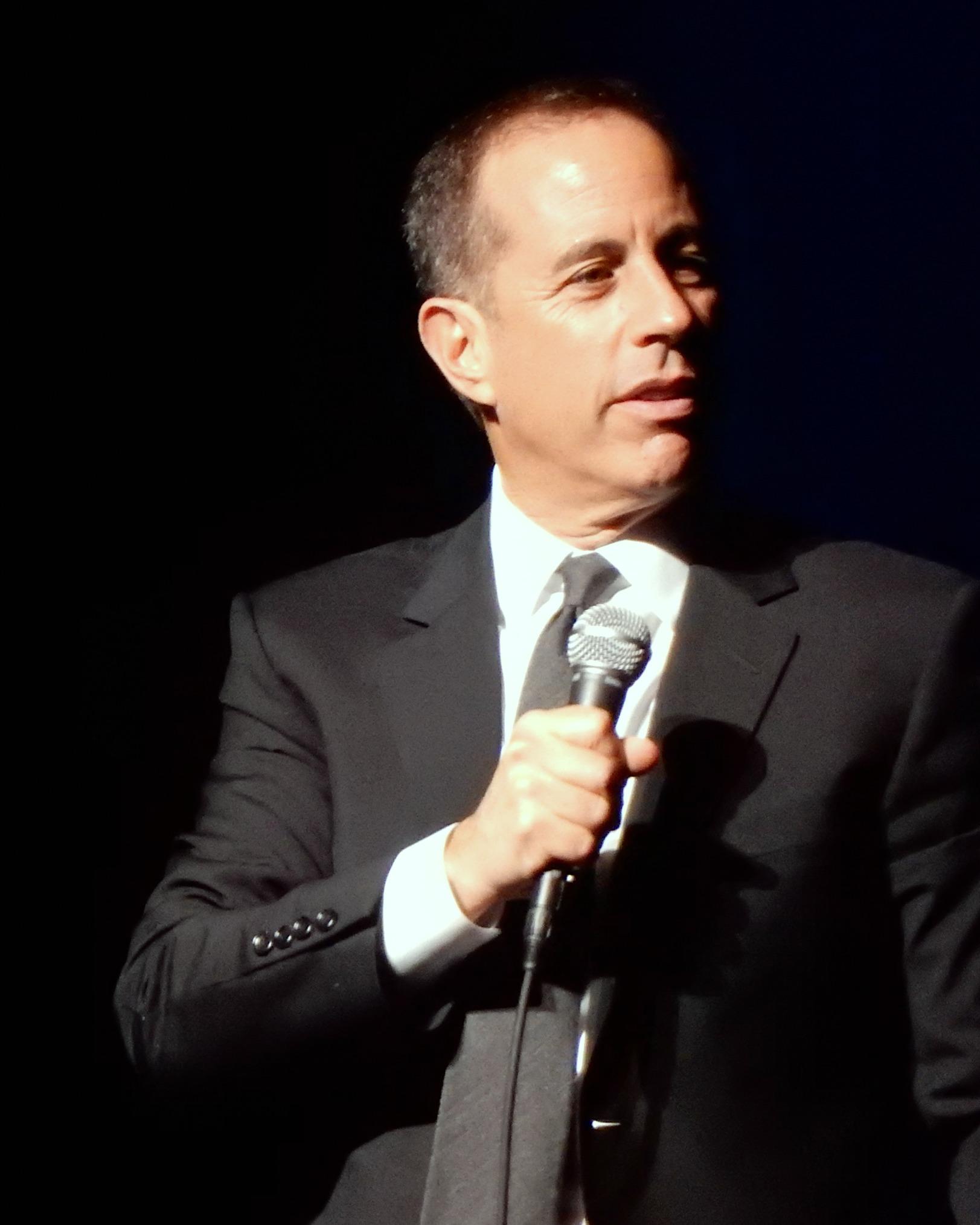 Photo Jerry Seinfeld via Opendata BNF