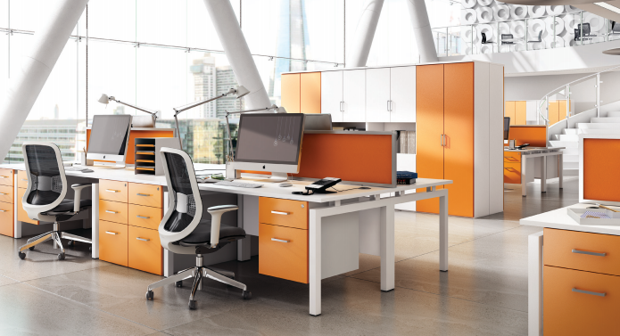 Office Furniture file:kit out my office's 'hd colour' (orange) office furniture