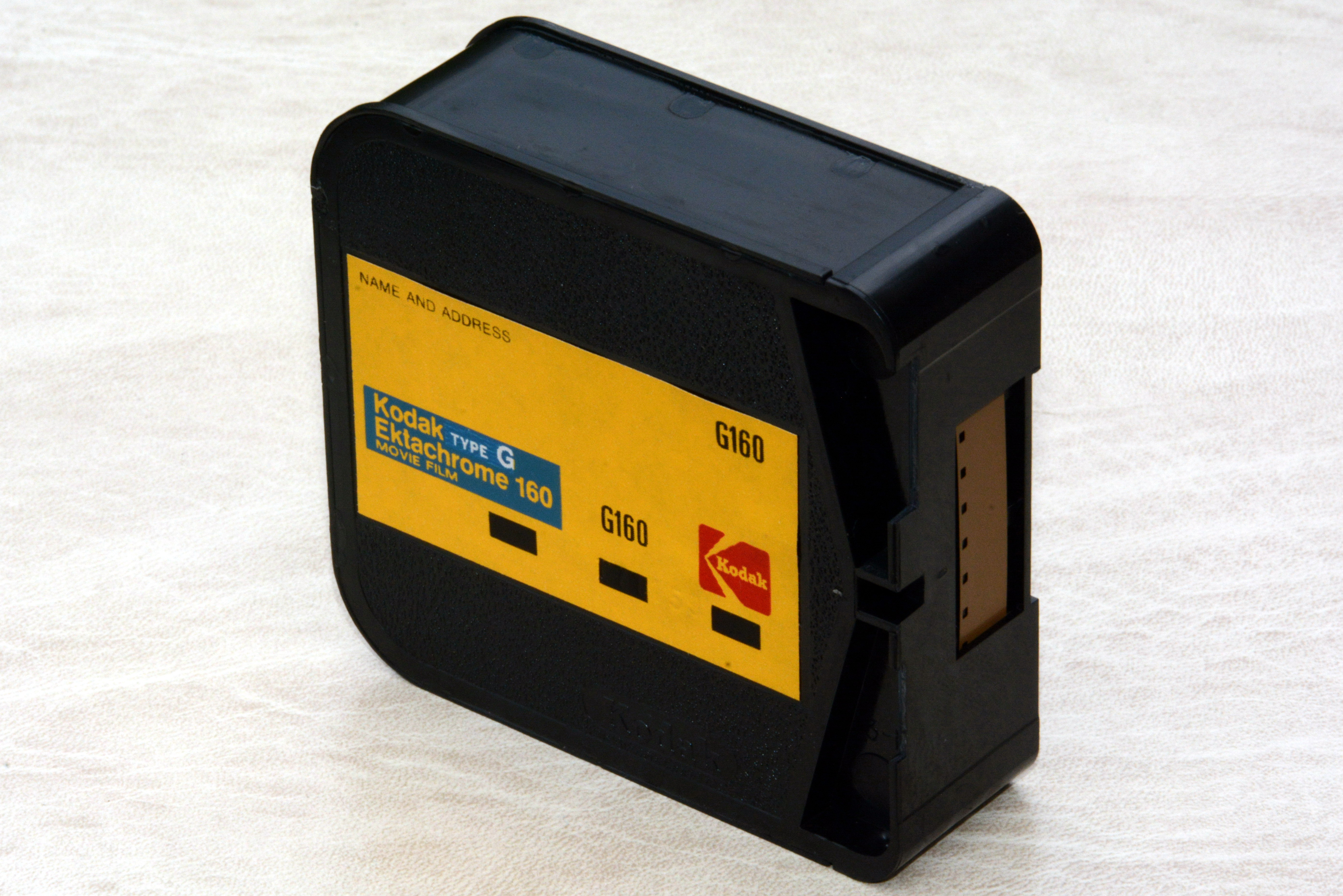 file kodak ektachrome 160 type g super 8 film cartridge wikimedia commons. Black Bedroom Furniture Sets. Home Design Ideas